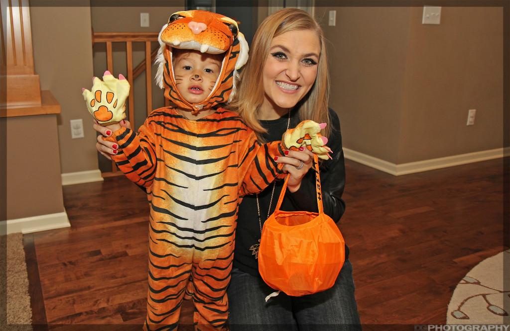 Our ferocious little tiger -Rawr!